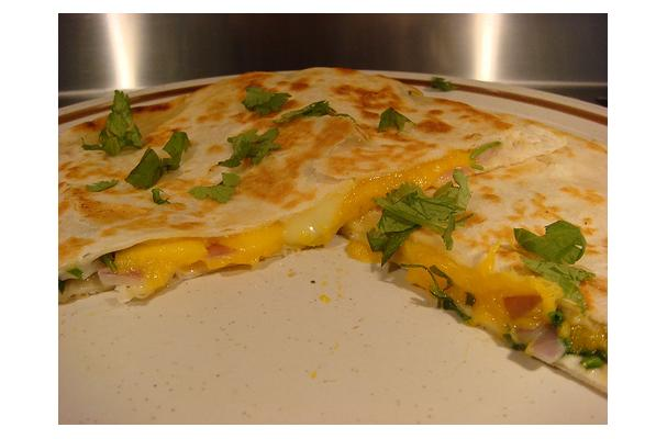 Mango and Brie Quesadillas Recipe
