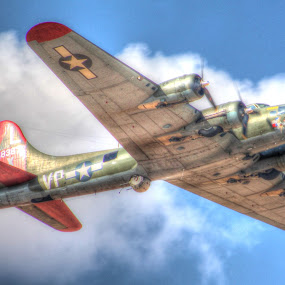 Texas Raiders by Sal 1701 - Transportation Airplanes ( wwii, bomber, b-17 )
