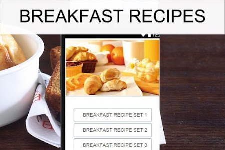 Breakfast recipes screenshot 0