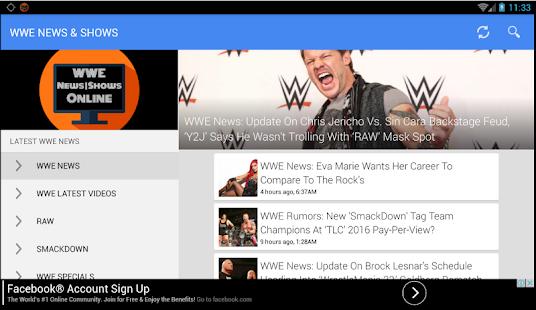 Wrestling Shows & News - náhled