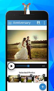 Anniversary Video Movie Maker screenshot 1