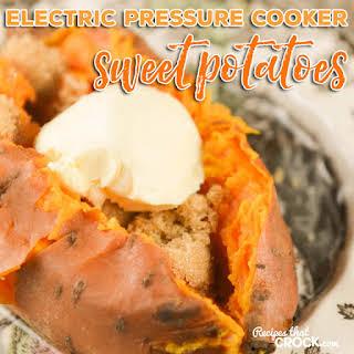 Pressure Cooker Sweet Potatoes Recipes.