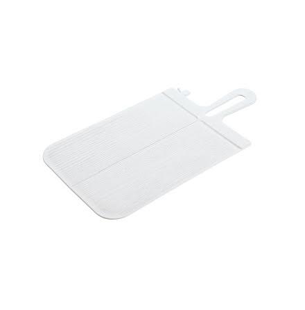 SNAP S, Skärbräda Plast, Vikbar, Vit 2-pack