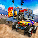American Truck Destruction Racing Stunts icon