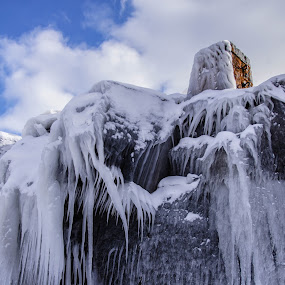 Icy Tower by Tammy Drombolis - Landscapes Weather (  )