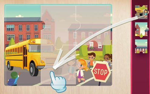 car vehicles puzzle for kids screenshot thumbnail