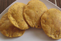 Masala Cheese Puris