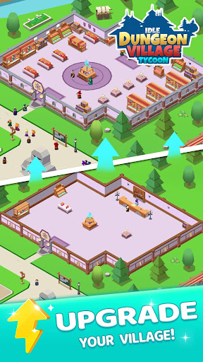 Idle Dungeon Village Tycoon - Adventurer Village 1.2.3 screenshots 2