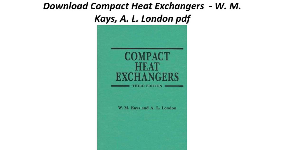Compact heat exchangers google docs fandeluxe Image collections