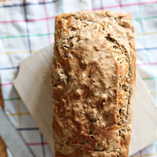 Cheddar and Herb Beer Bread.