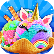 Unicorn Ice Cream Maker - Carnival Fair Food 2018