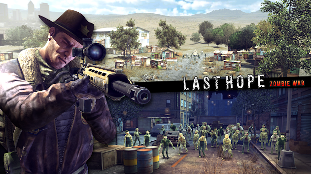 Last Hope Sniper - Zombie War (Unreleased) apk screenshot