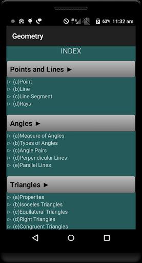 Geometry Formulas Pro  screenshots 1