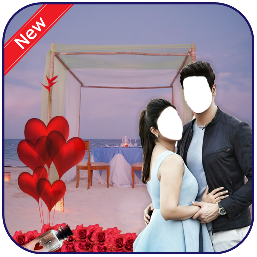 Romance couple photo suit
