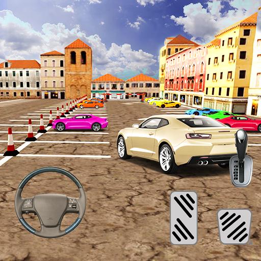 Modern Speed Car Parking City