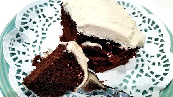 Frost cooled cake & enjoy!