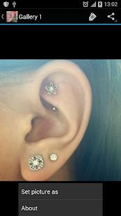 Ear Piercings - náhled