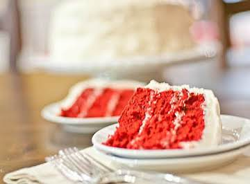 Red & Blue Velvet Cake Frosting