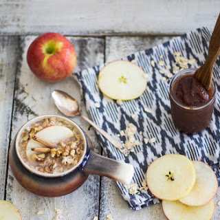 Apple Butter and Apple Butter Breakfast Oats