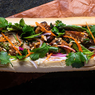 Lemongrass Chicken Banh Mi Recipe