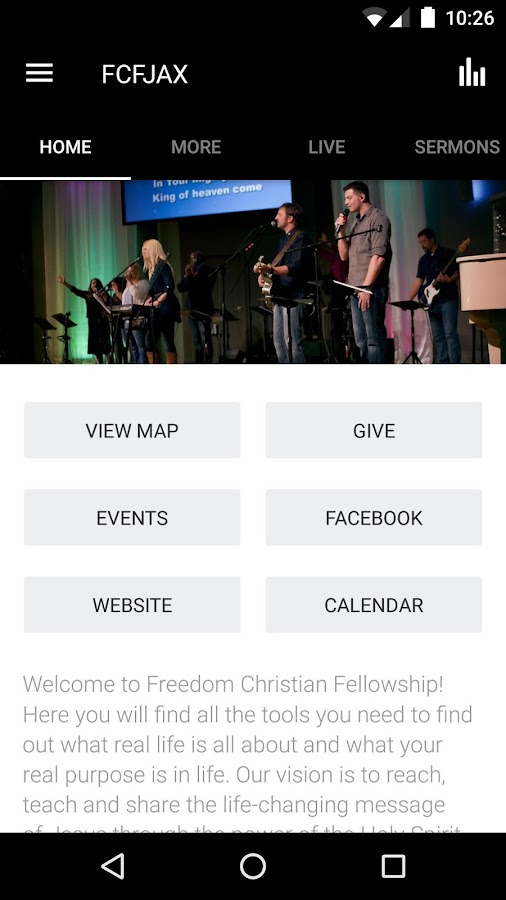 Freedom Christian Fellowship- screenshot