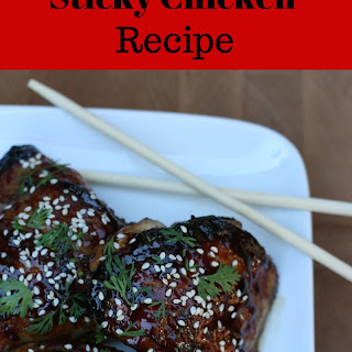 Quick and Easy Hoisin Sesame Sticky Chicken