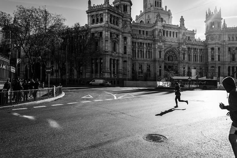 Footing a Madrid di Fabrizio Mariotti