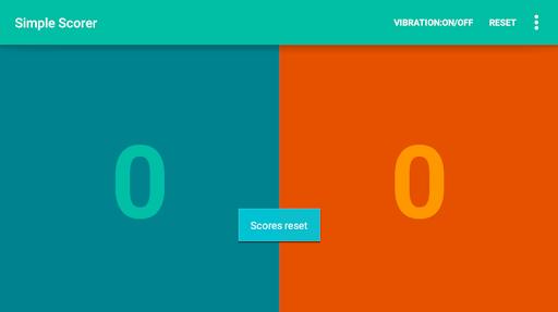 Simple Scorer - scoreboard