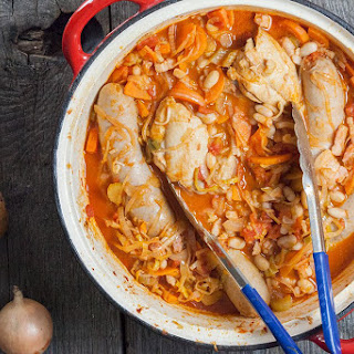 Easy French cassoulet