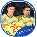 Colombia football team-America cup Brazil 2019 icon