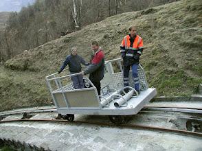 Photo: Nivo Kraftwerk Piottino - www.standseilbahnen.ch Standseilbahn Funiculaire Funicular