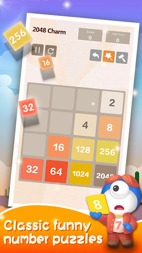 2048 Charm: Classic & Free, Number Puzzle Game 4.6501 screenshots 3