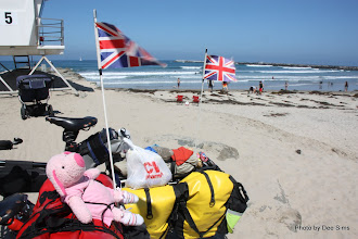 Photo: (Year 3) Day 32 - The Start of our Coast to Coast Ride Across the USA (The Pacific Ocean in San Diego) #4