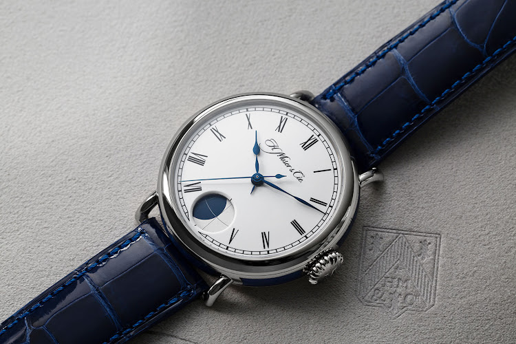 H Moser Heritage Perpetual Moon