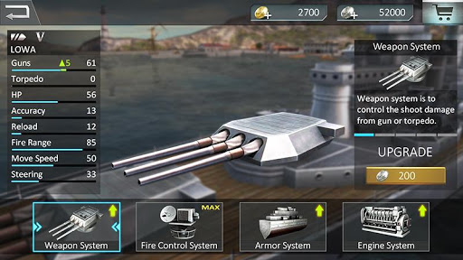 Warship Attack 3D 1.0.4 screenshots 3