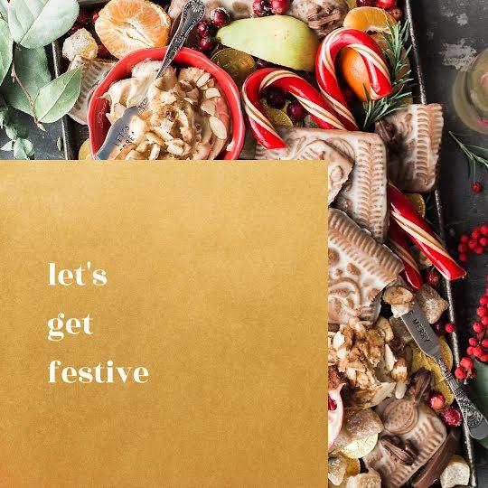 Let's Get Festive - Christmas Template