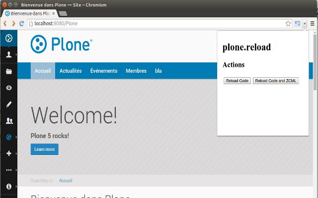 Plone Reloader