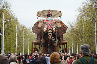 Photo: Sultan's Elephant. The Mall, London