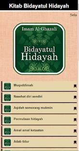 Bidayatul Hidayah & Terjemah - náhled