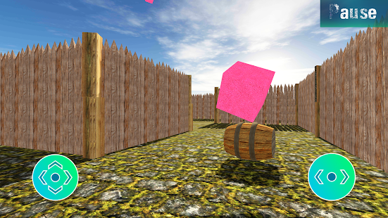 Labyrinth 3 random 3D labyrinth Screenshot