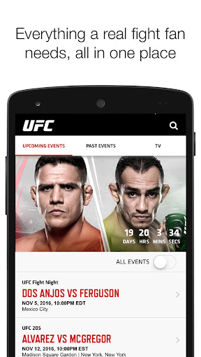 UFC screenshot 1