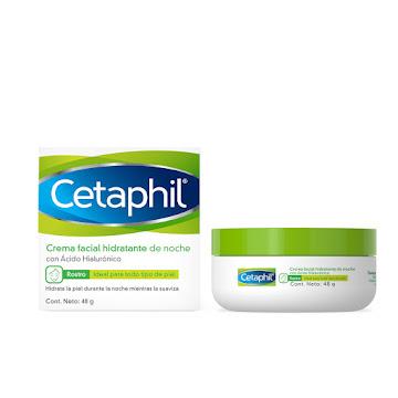 Crema Hidratante Facial   Cetaphil Noche X 48Gr