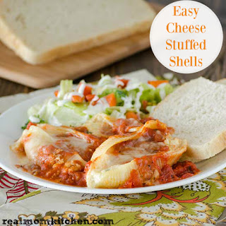 Easy Cheese Stuffed Shells