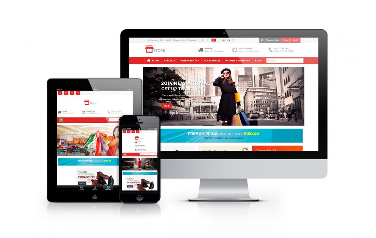 Создание интернет магазин сайтов скачать акт на создание сайта
