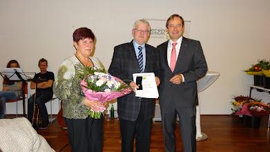 Photo: Ehrung Gemeinde Eichgraben, Foto: Gabi Zimmer