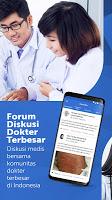 screenshot of Alomedika - SKP Online, Referensi & Forum Dokter