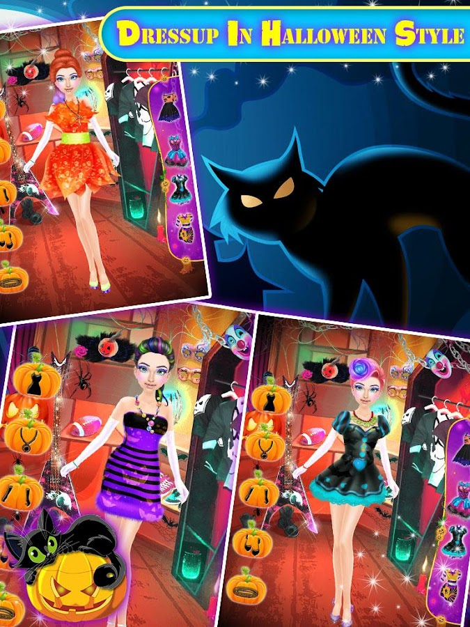 Halloween Scary Makeup Salon - Android Apps on Google Play