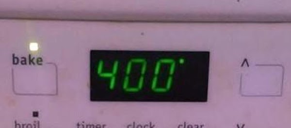 Preheat oven to 400 degrees.
