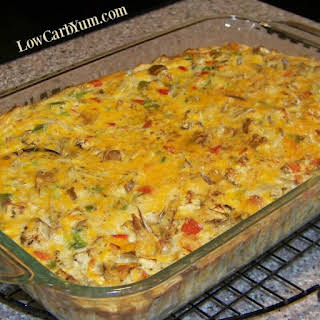 Baked Vegetable and Crabmeat Casserole.