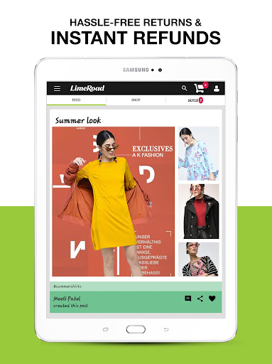 LimeRoad Online Shopping App for Women, Men & Kids 6.1.3 screenshots 8
